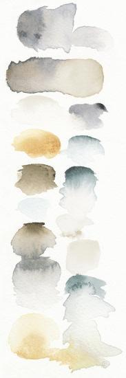 Watercolor Swatch Panel Neutral I-Elyse DeNeige-Premium Giclee Print