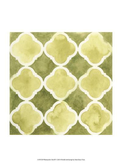 Watercolor Tile IV-June Erica Vess-Art Print