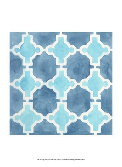 Watercolor Tile VII-June Erica Vess-Art Print