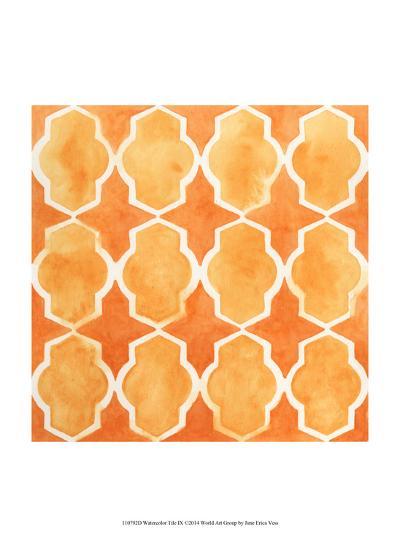 Watercolor Tiles IX-June Erica Vess-Art Print