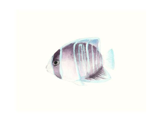 Watercolor Tropical Fish III-Naomi McCavitt-Art Print