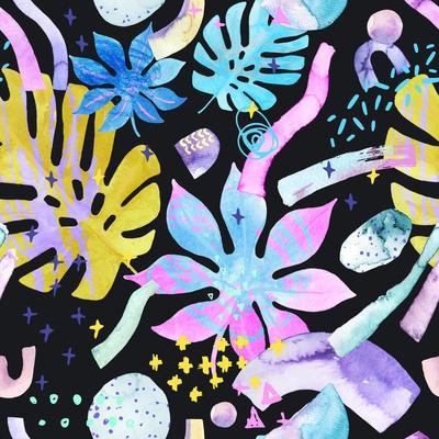 https://imgc.artprintimages.com/img/print/watercolor-tropical-leaves-on-geometric-background_u-l-q1bym4z0.jpg?p=0