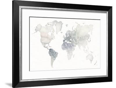 Watercolor Wanderlust-Laura Marshall-Framed Art Print