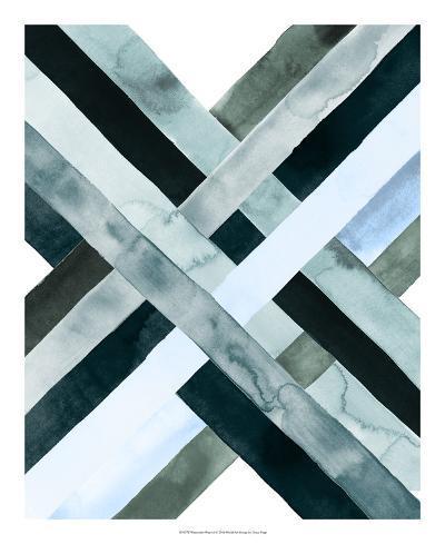 Watercolor Weave I-Grace Popp-Giclee Print