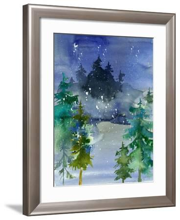 Watercolor Winter-Tara Moss-Framed Art Print