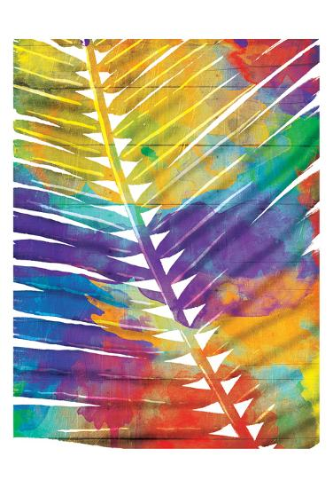 Watercolorful Palms-OnRei-Art Print