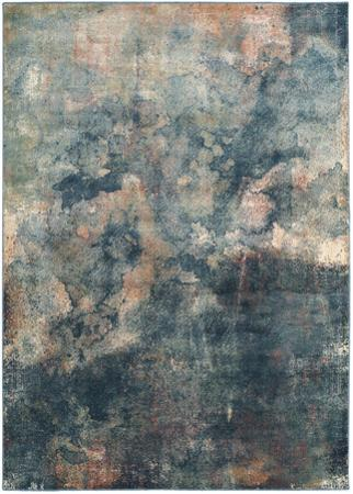 "Watercolors Area Rug - Sunrise 8' x 11'2"""