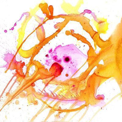 Watercolour Abstract V-Anna Polanski-Art Print