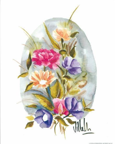 Watercolour Flower II-Urpina-Art Print