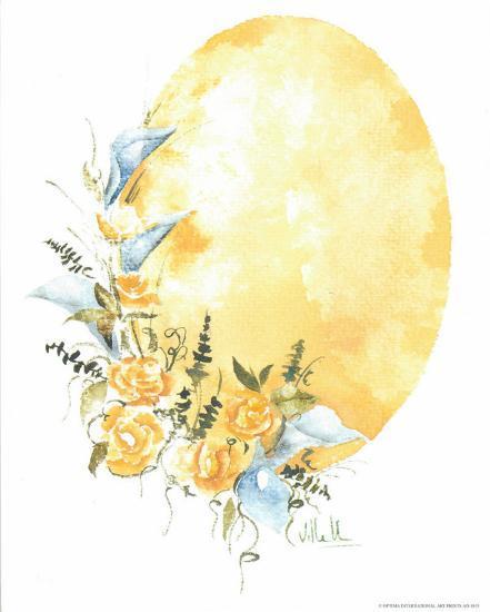 Watercolour Flower IV-Urpina-Art Print