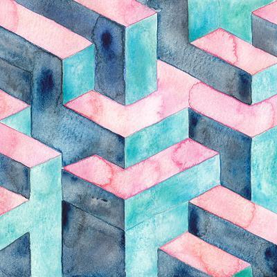 Watercolour Illusion-Elena O'Neill-Art Print