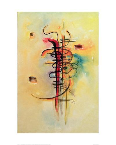 Watercolour No. 326, 1928-Wassily Kandinsky-Giclee Print