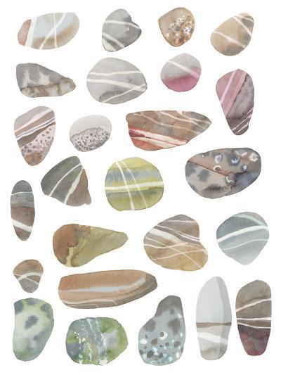 Watercolour Pebbles-Sandra Jacobs-Giclee Print