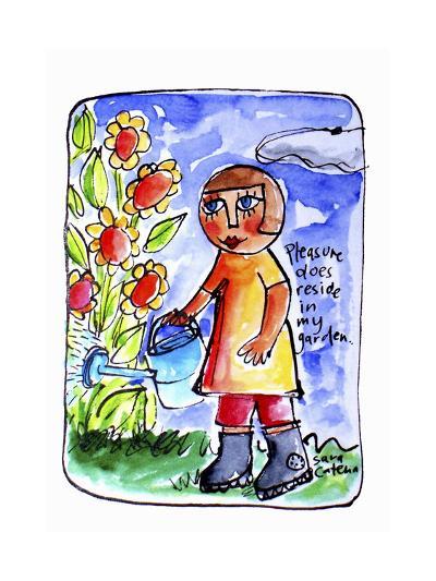 Watercolour Planet - Surrender 2-Sara Catena-Giclee Print