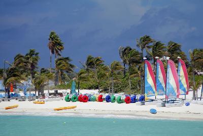 Watercraft Rentals at Castaway Cay, Bahamas, Caribbean-Kymri Wilt-Photographic Print