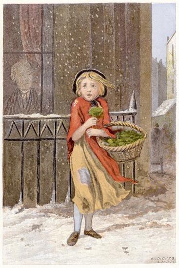 Watercress Seller, C1880--Giclee Print