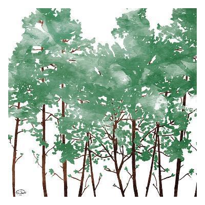 Watered Trees-OnRei-Art Print