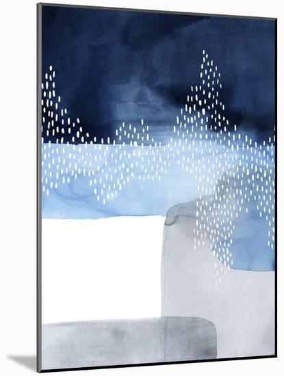 Waterfall Abstract I-Grace Popp-Mounted Art Print