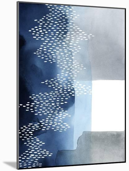 Waterfall Abstract II-Grace Popp-Mounted Art Print