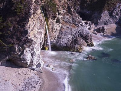 Waterfall Beach 2-Moises Levy-Photographic Print