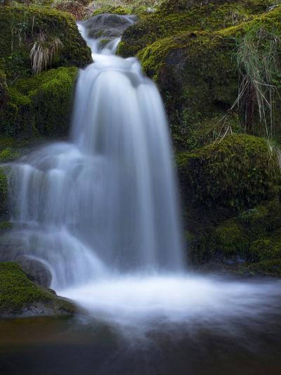 Waterfall, Glen Artney, Near Crieff, Perthshire, Scotland, United Kingdom, Europe-Jeremy Lightfoot-Photographic Print