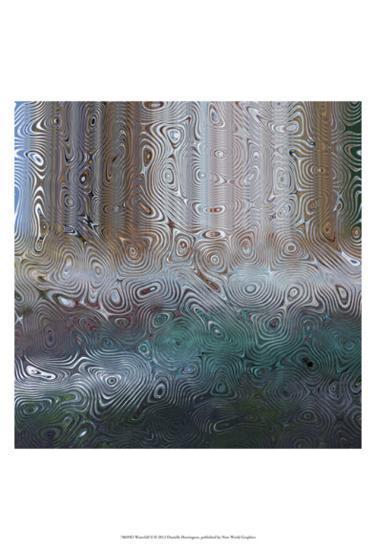 Waterfall II-Danielle Harrington-Art Print