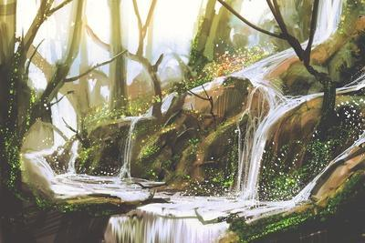 https://imgc.artprintimages.com/img/print/waterfall-in-forest-illustration-painting_u-l-q1ao5cm0.jpg?p=0