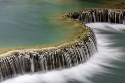 Waterfall in Laos-Art Wolfe-Photographic Print
