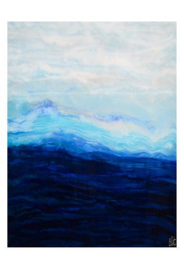 Waterfall IV-Barbara Bilotta-Art Print