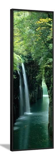 Waterfall Miyazaki Japan--Framed Photographic Print