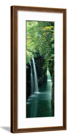 Waterfall Miyazaki Japan--Framed Premium Photographic Print