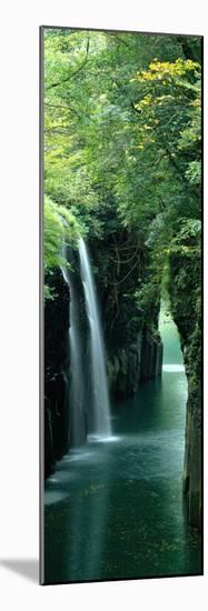 Waterfall Miyazaki Japan--Mounted Premium Photographic Print