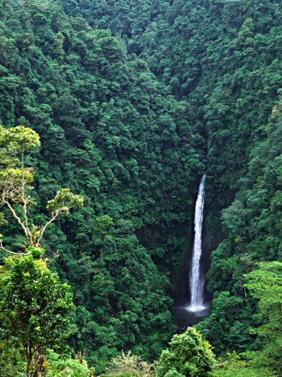 Waterfall near Poas Volcano, Poas Volcano National Park, Costa Rica-Charles Sleicher-Photographic Print