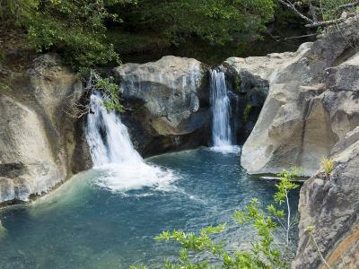 Waterfall on the Colorado River, Near Rincon De La Vieja National Park, Costa Rica-R H Productions-Photographic Print