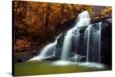 Waterfall & Stream Thailand--Stretched Canvas Print