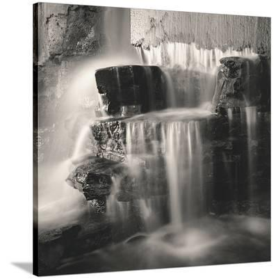 Waterfall, Study #1-Andrew Ren-Stretched Canvas Print