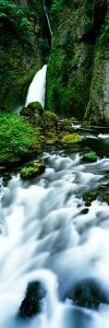 Waterfall, Wahclella Falls, Columbia River Gorge, Oregon, Usa