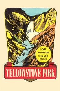 Waterfall, Yellowstone National Park, Montana