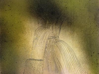 Waterfall-Paul Klee-Giclee Print