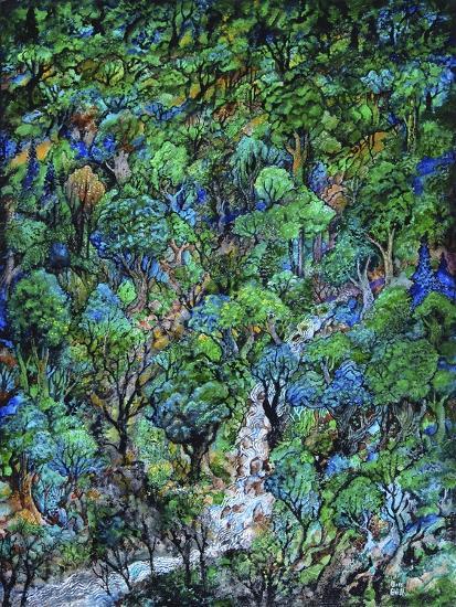 Waterfall-Bill Bell-Giclee Print