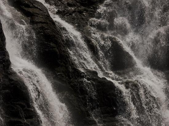 Waterfalls at Walter Sisulu Botanical Gardens-Beverly Joubert-Photographic Print
