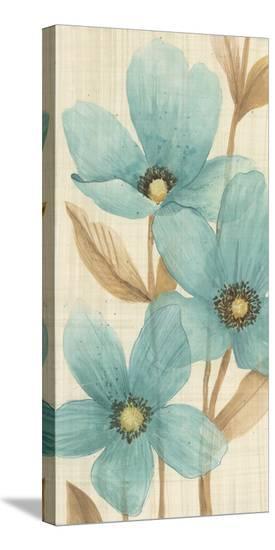 Waterflowers II-Maja-Stretched Canvas Print