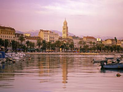Waterfront at Split, Croatia-Alan Copson-Photographic Print