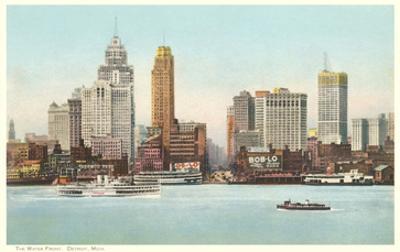 Waterfront, Detroit, Michigan