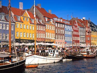 Waterfront District, Nyhavn, Copenhagen, Denmark, Scandinavia, Europe-Gavin Hellier-Photographic Print