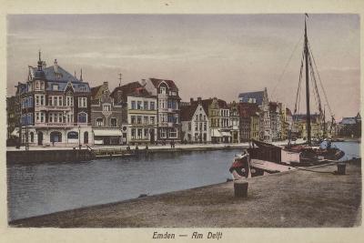 Waterfront, Emden, Germany--Photographic Print