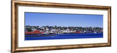 Waterfront, Lunenburg, Nova Scotia, Canada--Framed Photographic Print