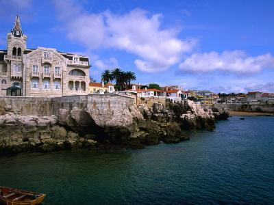 Waterfront Mansion, Cascais, Portugal-Anders Blomqvist-Photographic Print