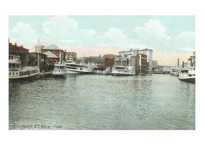 Waterfront, Providence, Rhode Island--Art Print