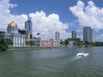 Waterfront, Recife, Pernambuco, Brazil, South America-G Richardson-Photographic Print